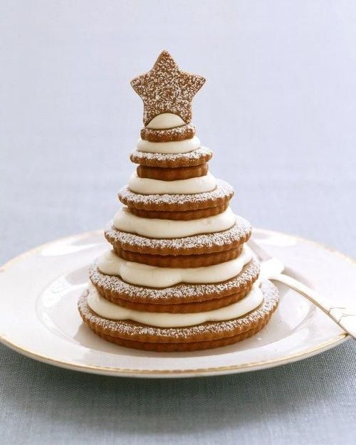 Gingerbread-Cookie Trees!