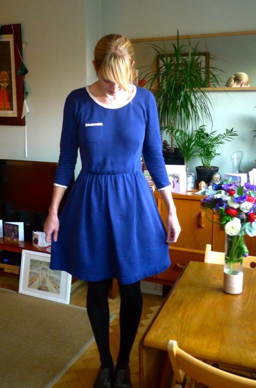 Fleece Lined Skater Dress!