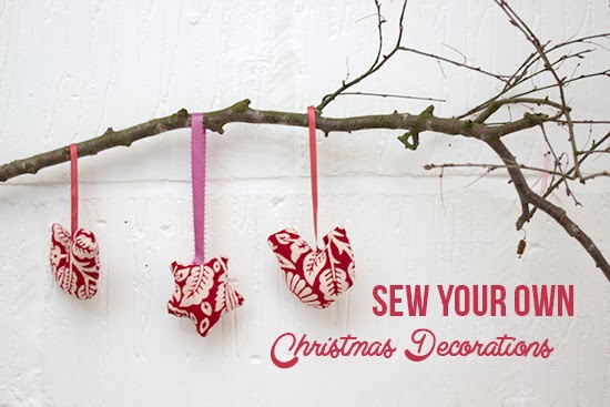 Sew Your Own Christmas Decorations!