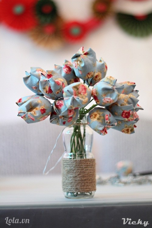 Weekend Wonder: Fabric Tulip DIY
