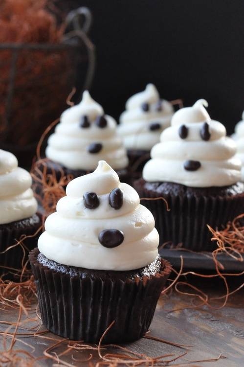 Ghost Cupcakes!