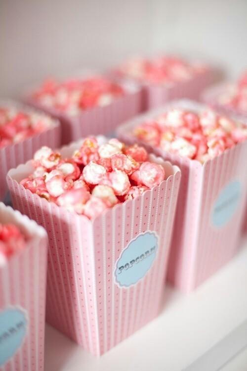 Thursday's Recipes   Pink Popcorn