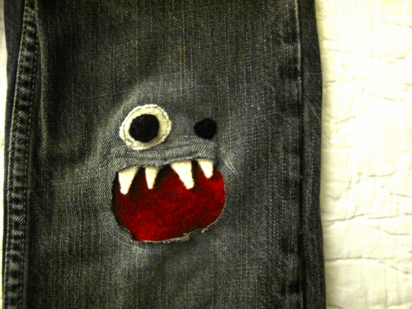 Patching Up Jeans