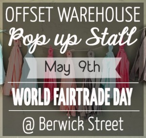 World Fairtrade Day Pop Up Stall
