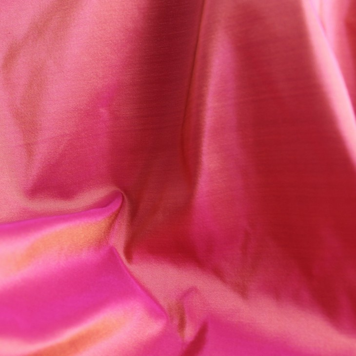 Fabric Of The Week: Pink Peace Silk Taffeta