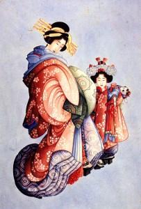 Kimono zero Waste drawing