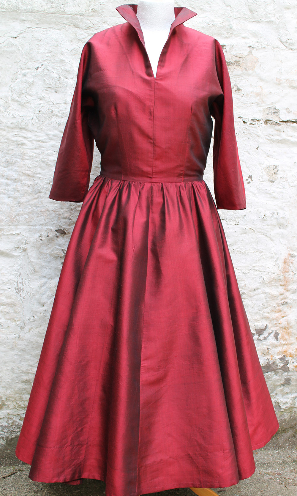 Ethical Silk Taffeta Dress