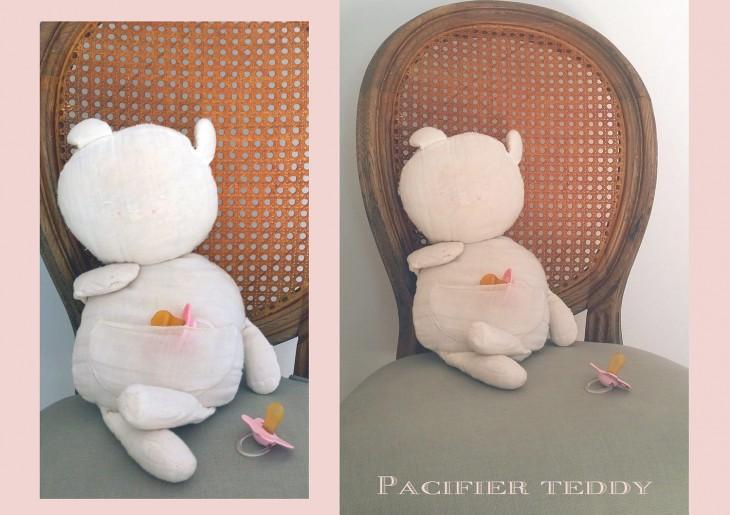 Carla's Pacifier Pocket Teddy