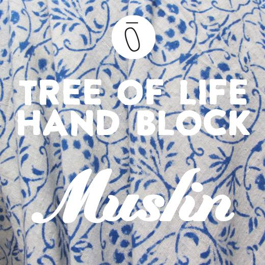 Fabric of The Week – Tree of Life Hand Block Muslin