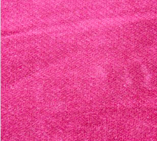 Pink organic velvet