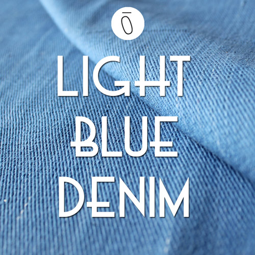 Light Blue Denim | #FabricOfTheWeek