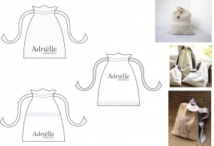Resposible packaging for Adrielle intimates