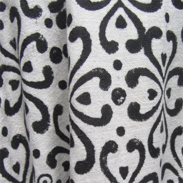 Chakra Hand Block Cambric