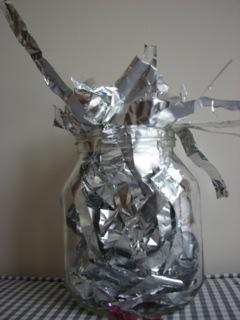 Making my own alum from aluminium foil