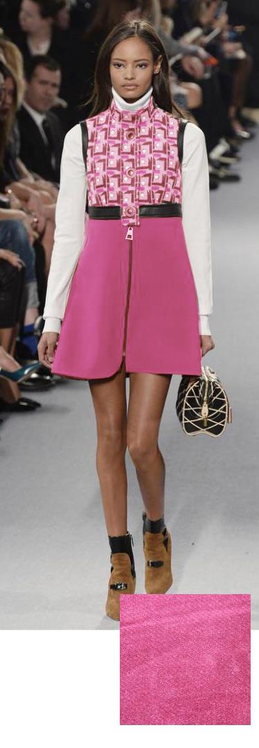 60s Pink Mod Dress