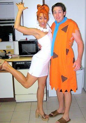 Fred & Wilma Flintstone