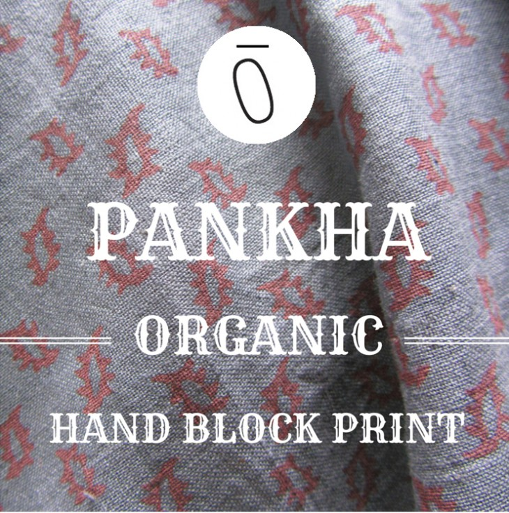 Fabric of the Week: Organic Pankha Hand Block Print