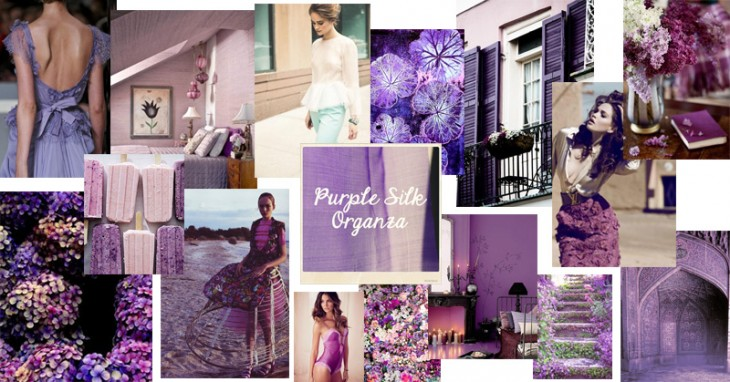 Purple Silk Organza | Inspired By Our Fabric Of The Week