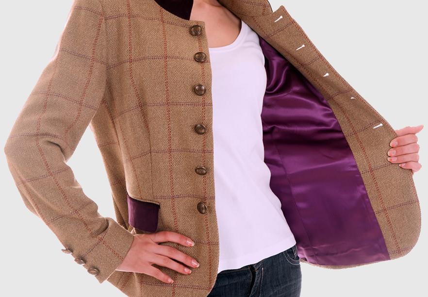 Lining Wool Jacket