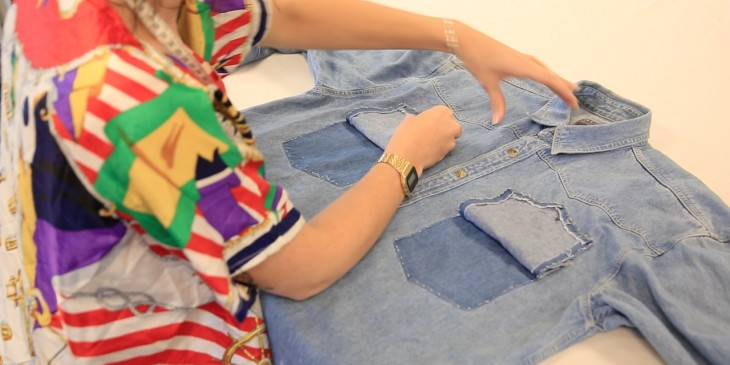 An Amazing Way To Upcycle Two Old Shirts