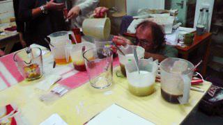 Michel Garcia Preparing different metallic mordents