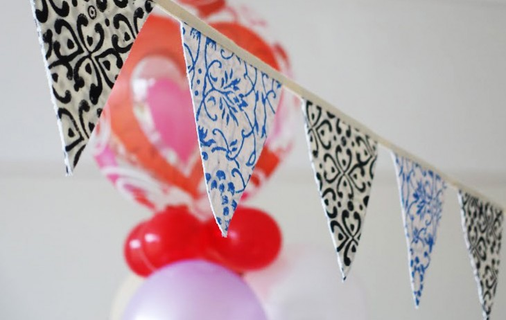 Cheeky Way To Make Bunting