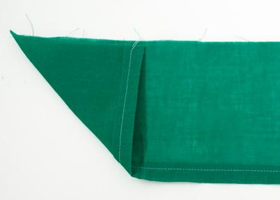 double fold-hem