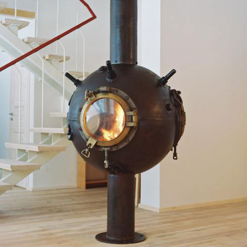 Upcycling Ideas For The Home - Upcycled Fireplace
