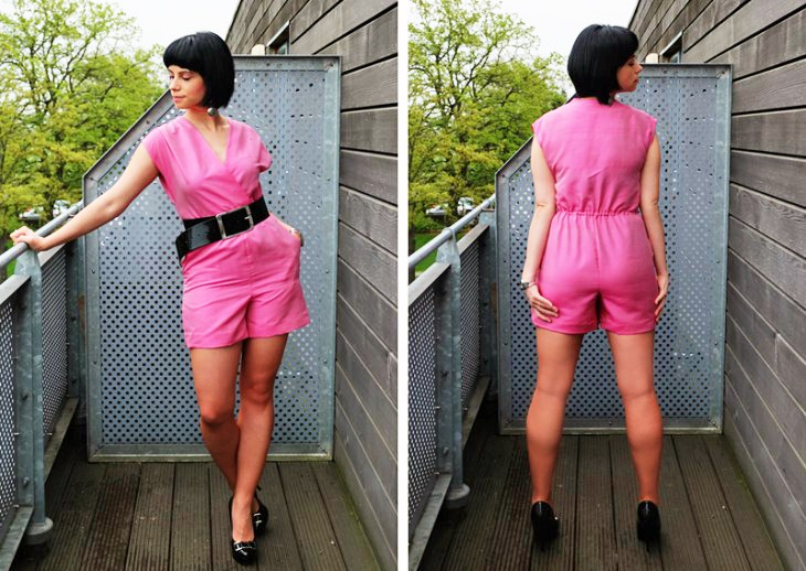 GBSB's Alex & Her Carnation Silk Taffeta Playsuit!