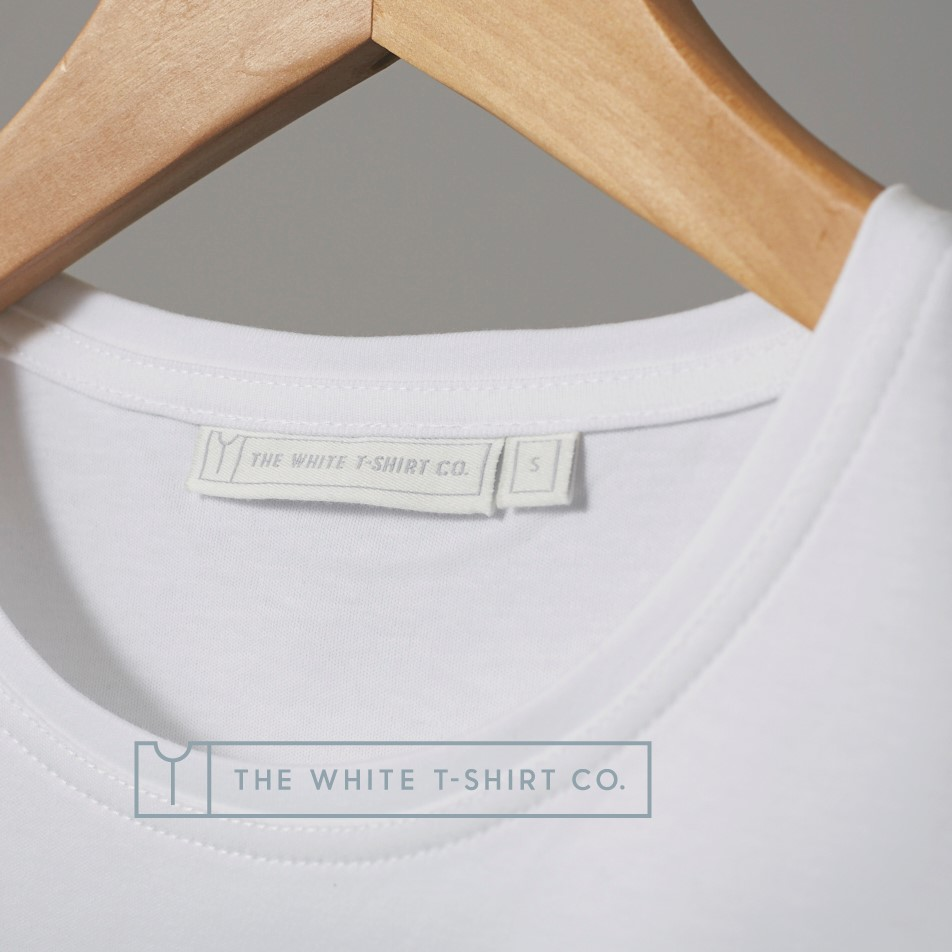 16 White T-Shirt Co T-Shirt Hanger Detail