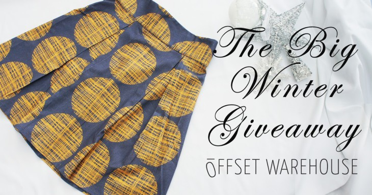 Day Ten of The Big 12-Day Winter Giveaway