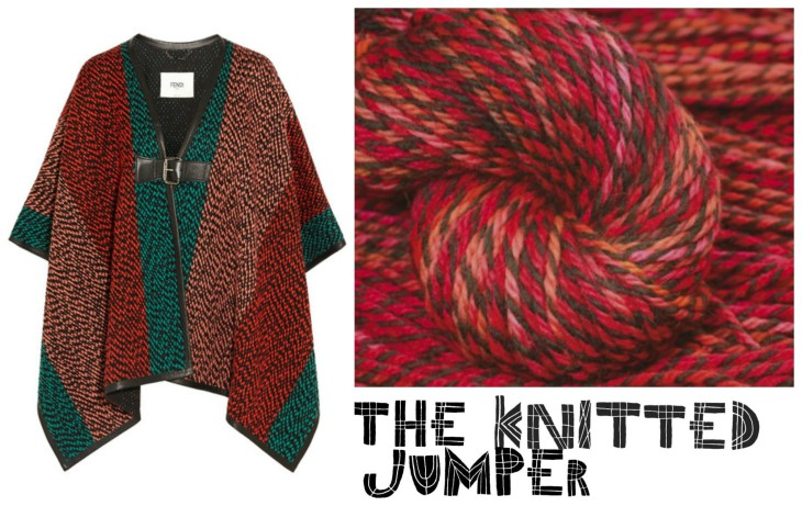 Knit Your Own Designer Inspired Poncho Ready For Winter!