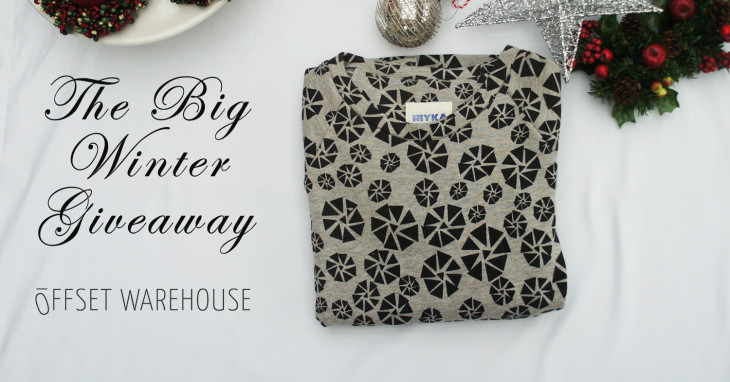 Day One of The Big 12-Day Winter Giveaway