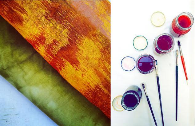 Natural Dye Paints