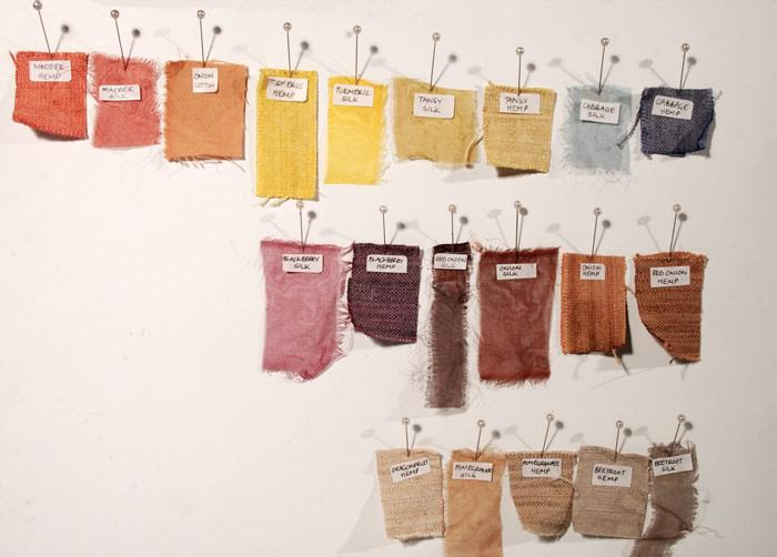 How To Create A Rainbow With Natural Dyeing