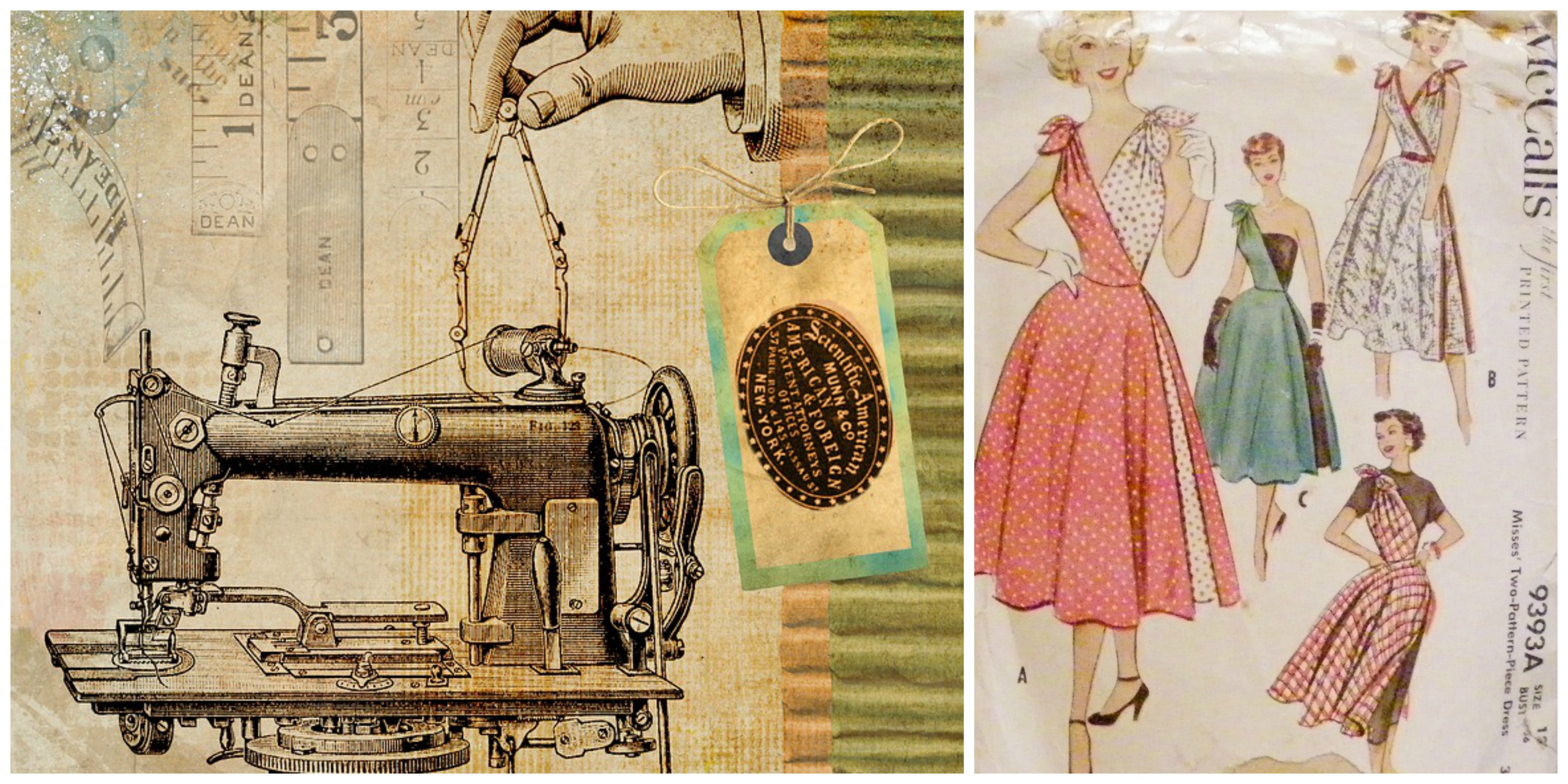 Where to buy vintage patterns amp how to sew them