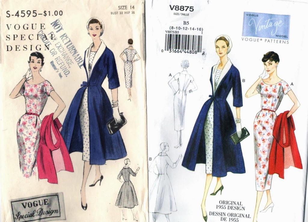 Reissued Vintage Pattern