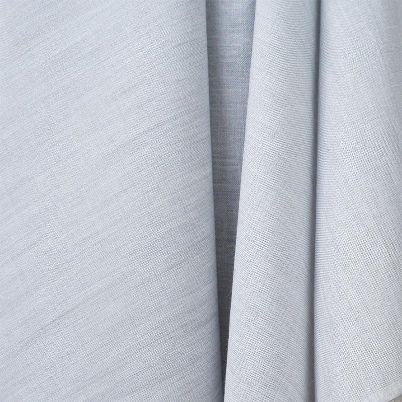 Silver Marl Wool & Tencel Blend