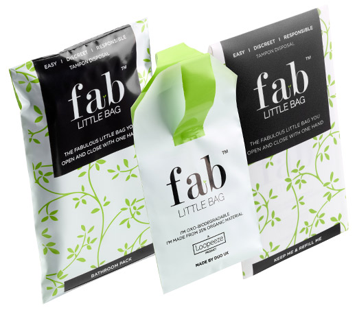 Can You Flush Tampons? No! Use A Fab Little Bag