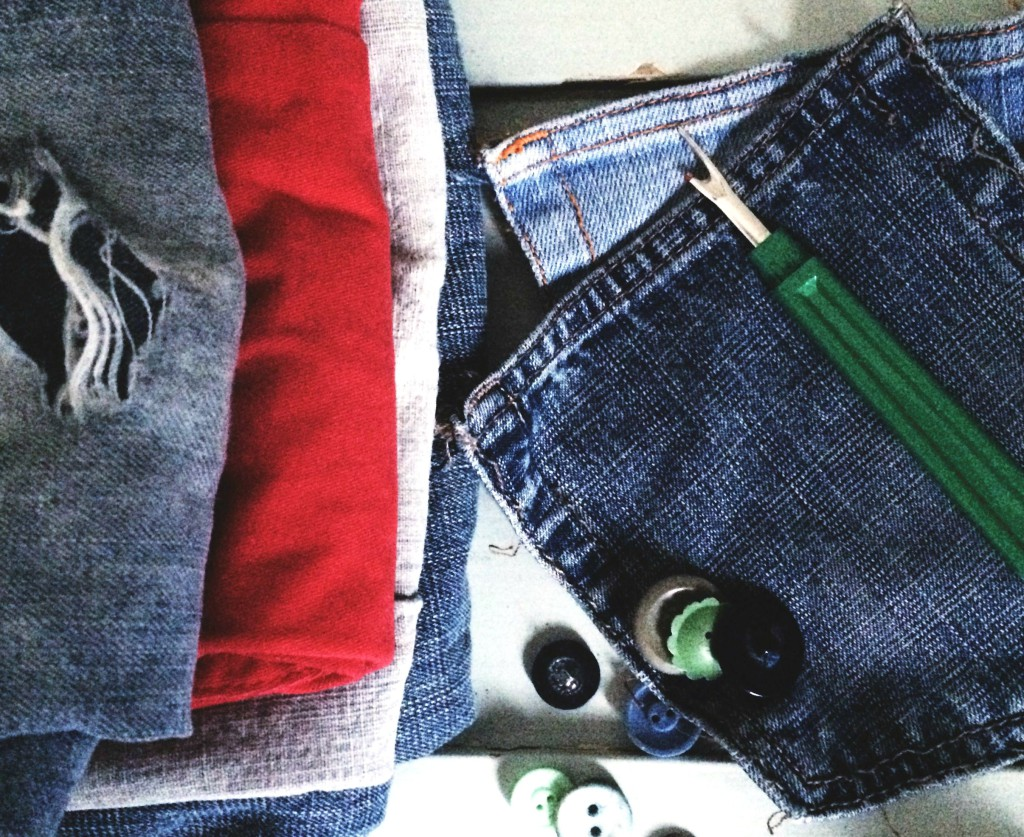 Jeans patching