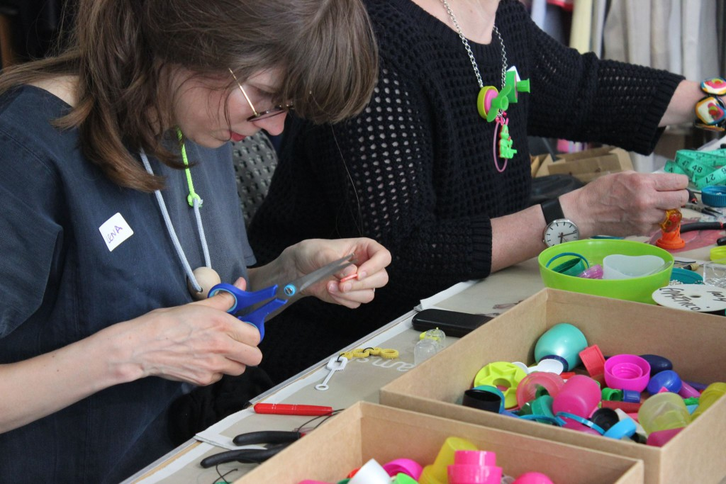 Plastic SEconds Upcycled Jewellery Workshops 2