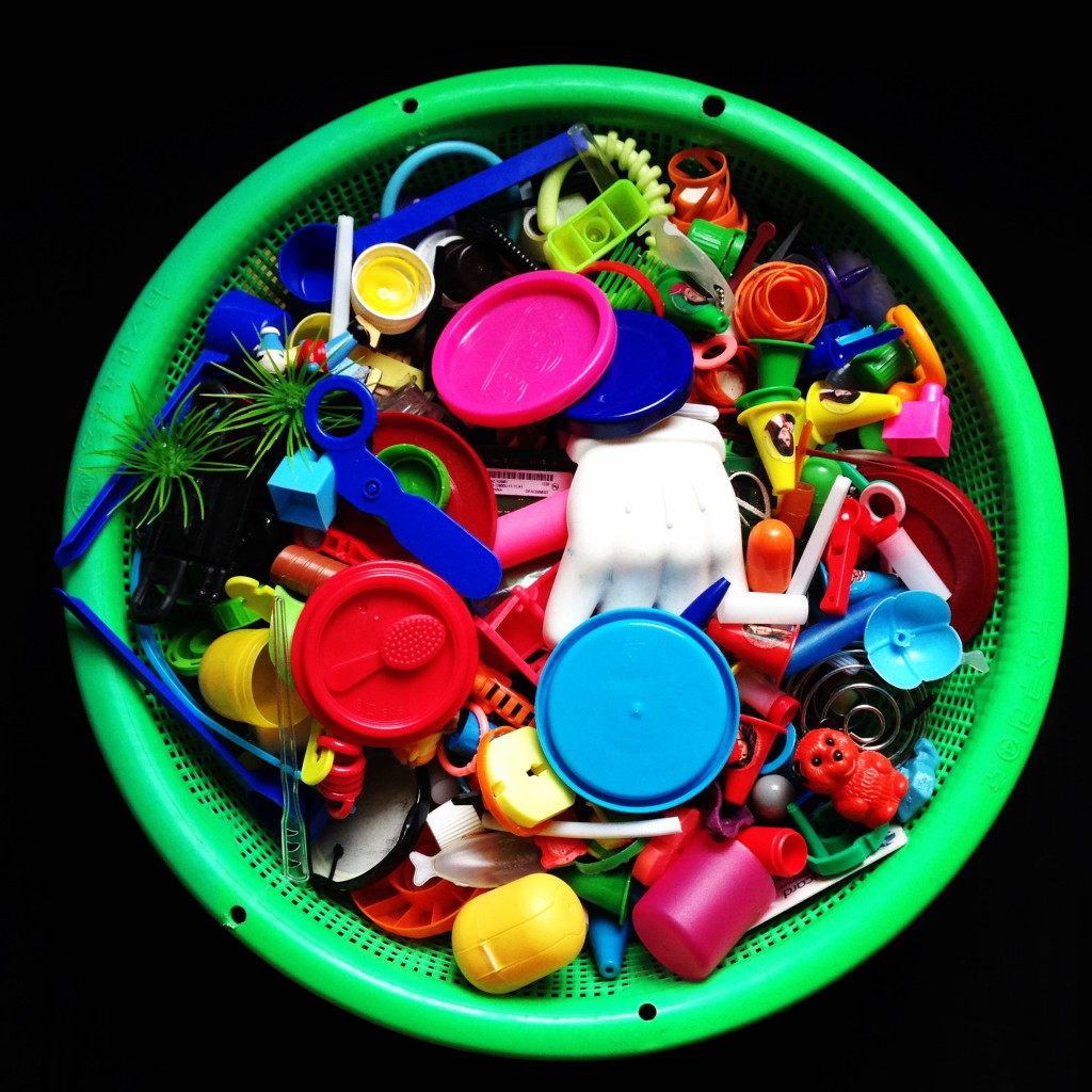 Plastic Seconds Upcycled Designer Jewellery by Maria Papadimitriou plastic waste