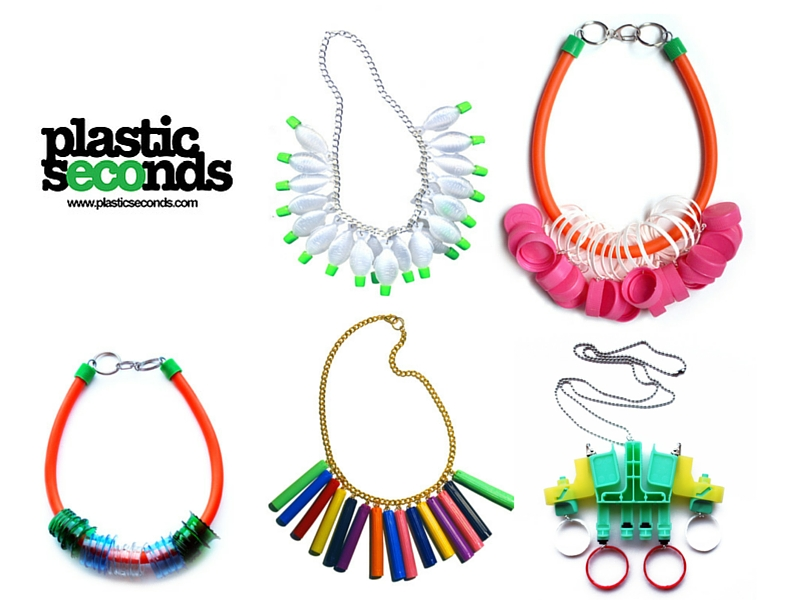 Plastic Seconds Upcycled Jewellery Offset Warehouse blog header image
