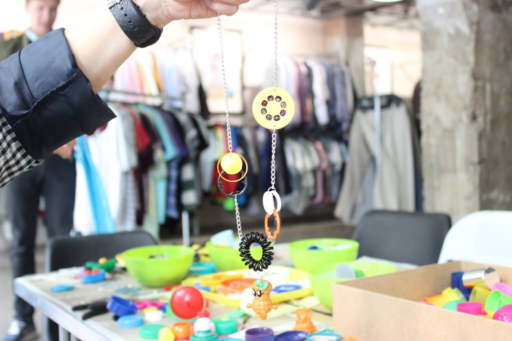 Plastic Seconds Upcycled Jewellery Workshops 3