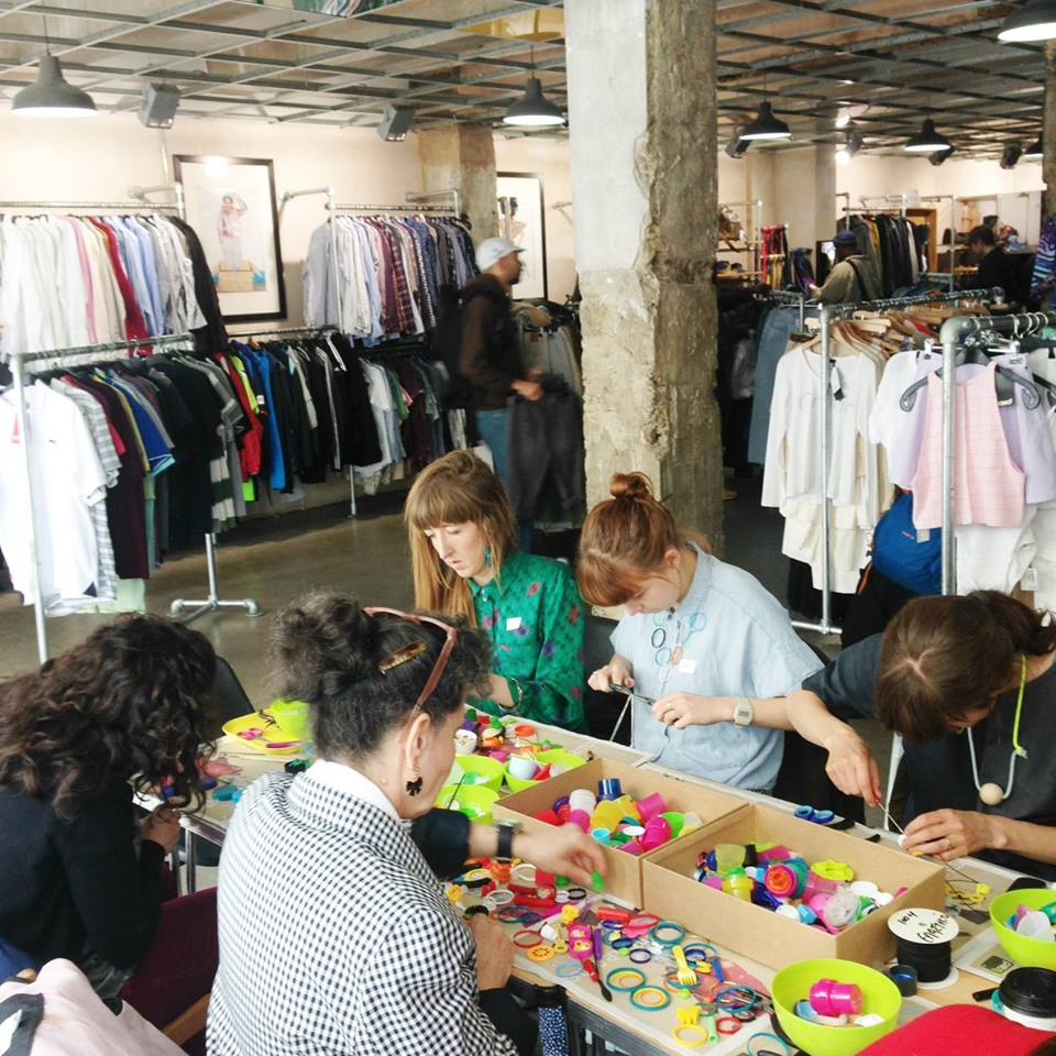 Plastic Seconds Upcycled Jewellery Workshops 4