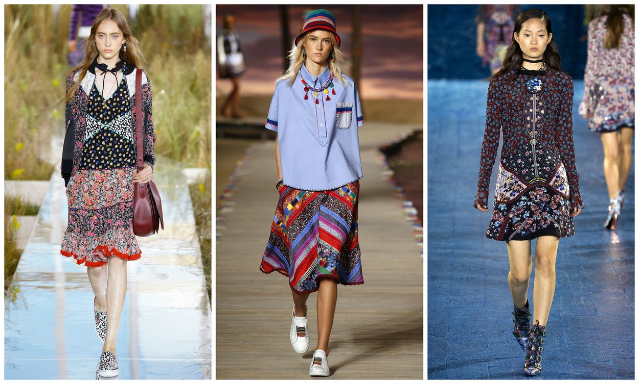 (Left to Right) Coach, Tommy Hilfiger, Mary Katrantzou