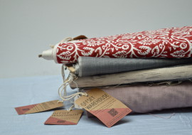New Stock At Fabrications – Including Handwoven & Organic Fabric!