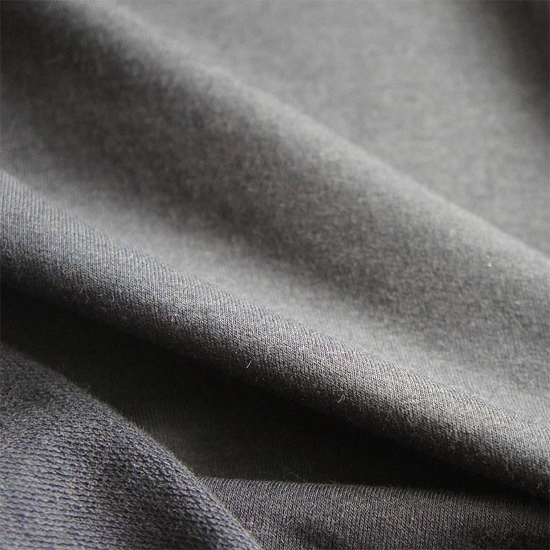Soft Black Bamboo Organic Cotton Jersey